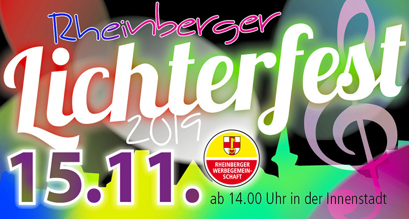 4. Lichterfest in Rheinberg